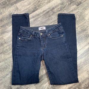 PAIGE Skyline Skinny Dark Wash Jeans Size 25